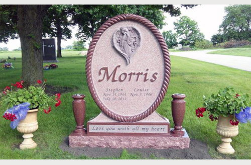 Design Pictures of Unique Headstones for Sale with Prices
