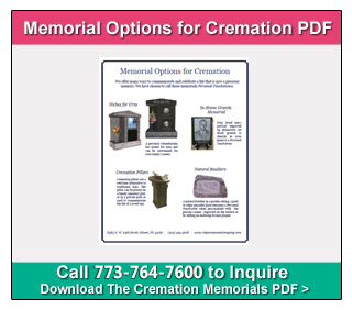 "Download the City Monument Company PDF titled ""Memorial Options for Cremation"""