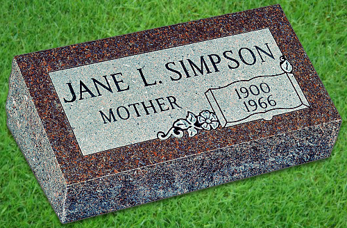 How To Buy A Bevel Grave Marker To Memorialize Your Mother